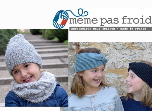 "Nouvelle Collection Enfants ""made in France"" Même pas froid"