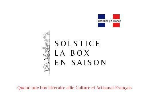 Solstice : la box littéraire en saison