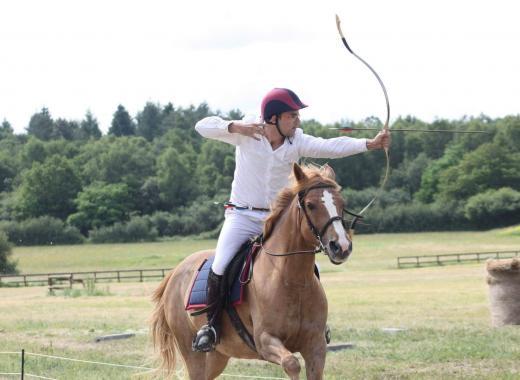 Finale de la coupe d'Europe des nations de tir à l'arc à cheval