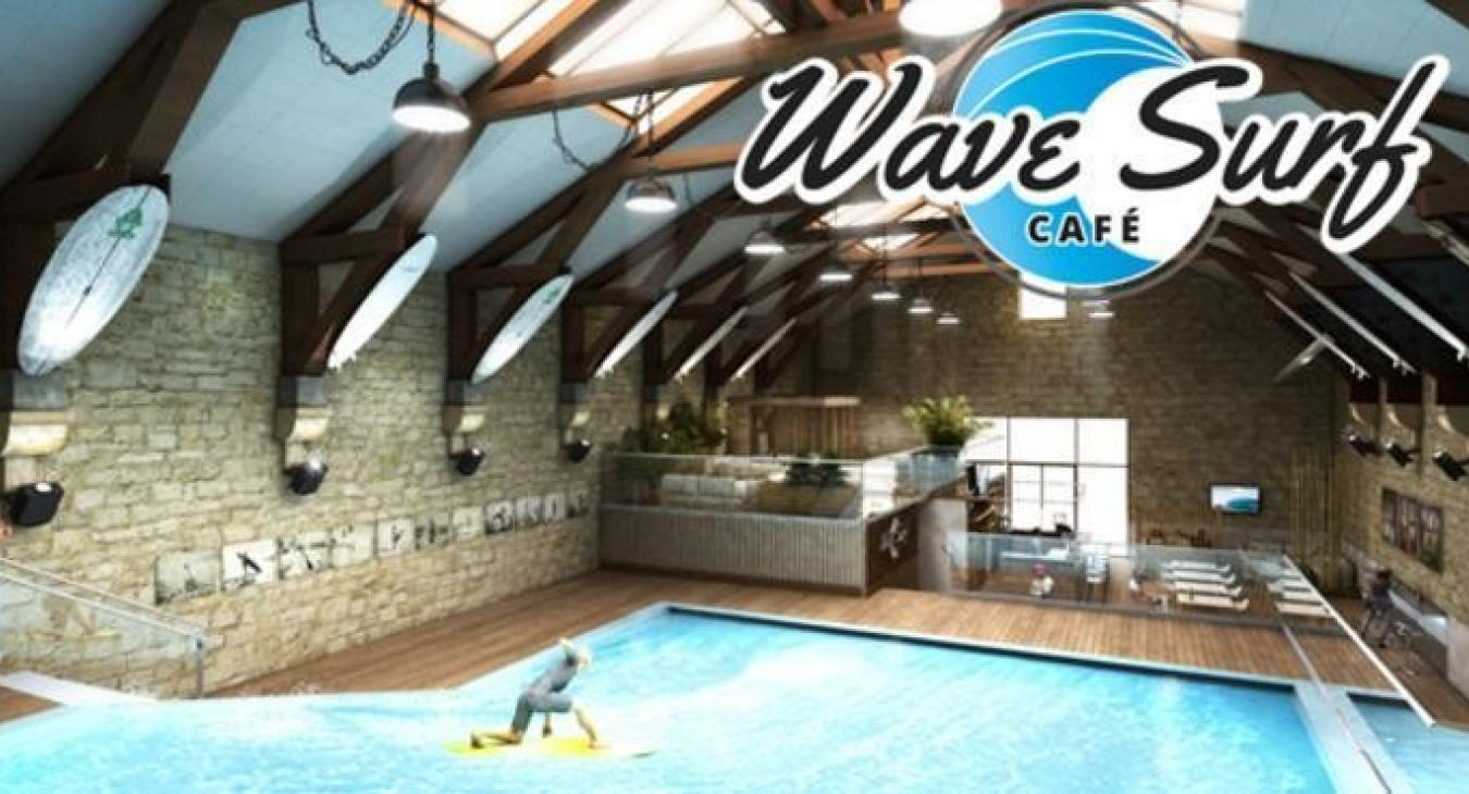 Wave surf cafe US