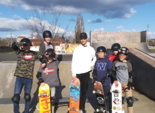 Création d'une école de skate