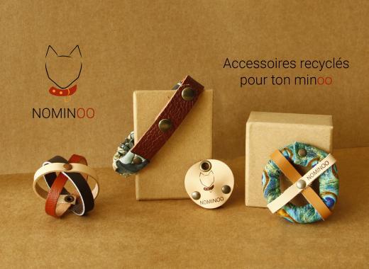 Nominoo des accessoires recyclés et élégants pour chats