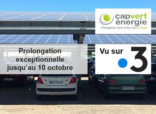 Parc solaire Cap Vert Energie Quincieux