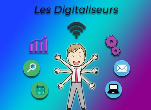 Les digitaliseurs, école numérique Inclusive