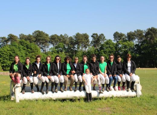 La Ferme Équestre de Bertron aux Championnats de France d'équitation Club 2020