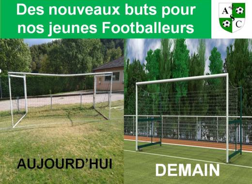 Renouvellement des buts de Football à 8