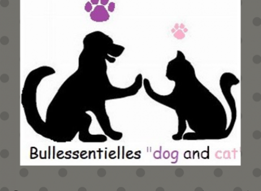 """Bullessentielles """"dog and cat"""""""