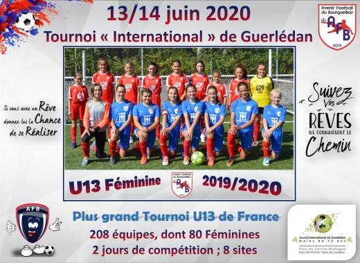 U13 Féminine de l'AFB - Direction TIG 2020 !