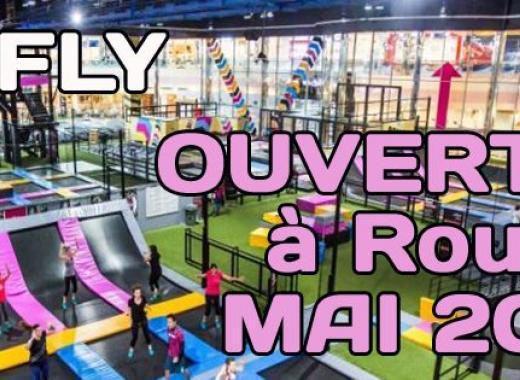 WE FLY - Trampoline Park aux portes de Rouen (Sotteville)