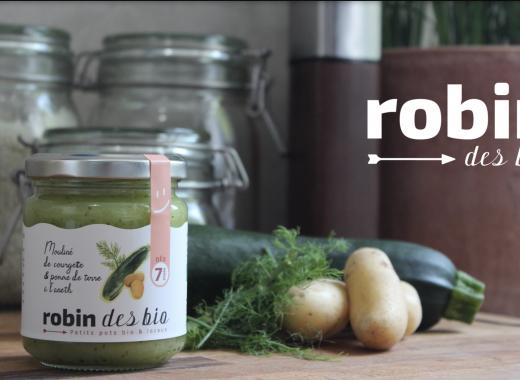 Robin des Bio, les petits pots bio de Nouvelle-Aquitaine !