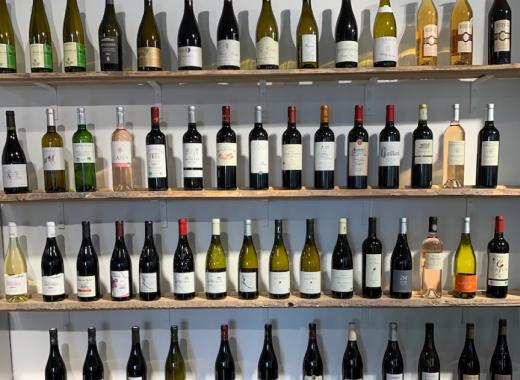 Stand Wine selection