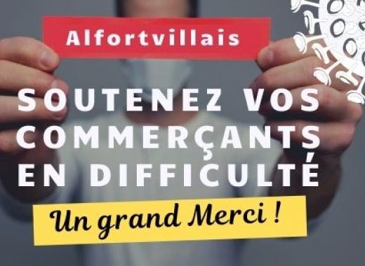 Commerçants alfortvillais en difficulté COVID