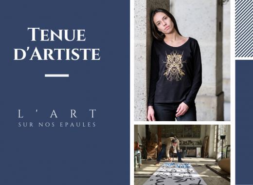 Tenue d'Artiste, les T-shirts d'artistes en série limitée