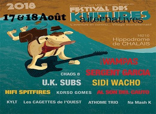 FESTIVAL des KULTURES ALTERNATIVES, l'Aventure en continu...