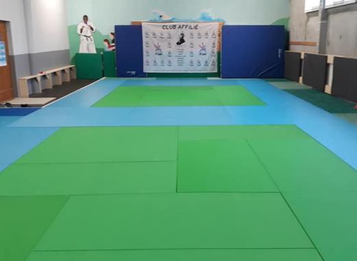Achat d'un tatamis judo et création d'un hall d'accueil