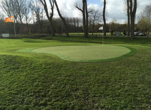 Aidez-nous à développer notre Practice de golf !