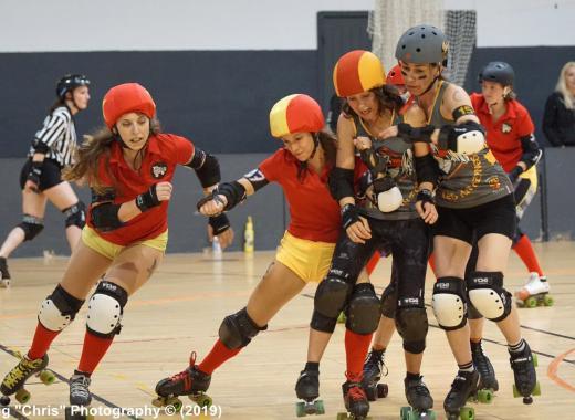 Bootcamp Roller Derby féminin