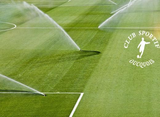 Arrosage raisonné du stade de football