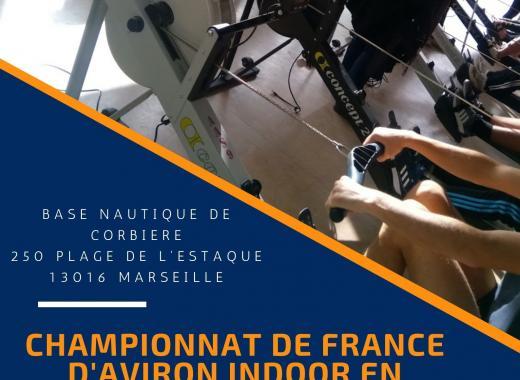 Organisation du Championnat de France d'Aviron Indoor virtuel !