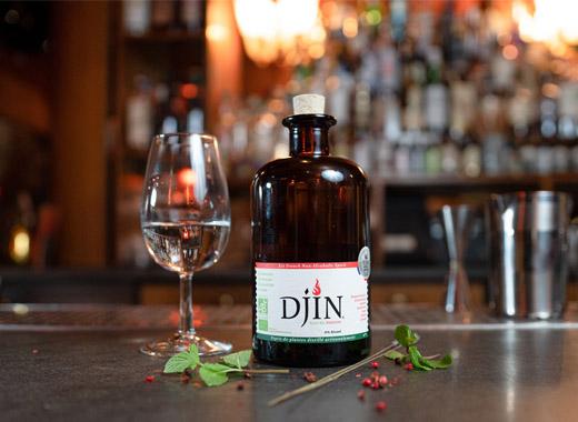 Djin Spirits - 1er spiritueux sans alcool français (et BIO !)