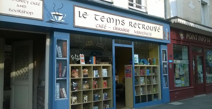 """Café-librairie """"Le Temps Retrouvé"""""""