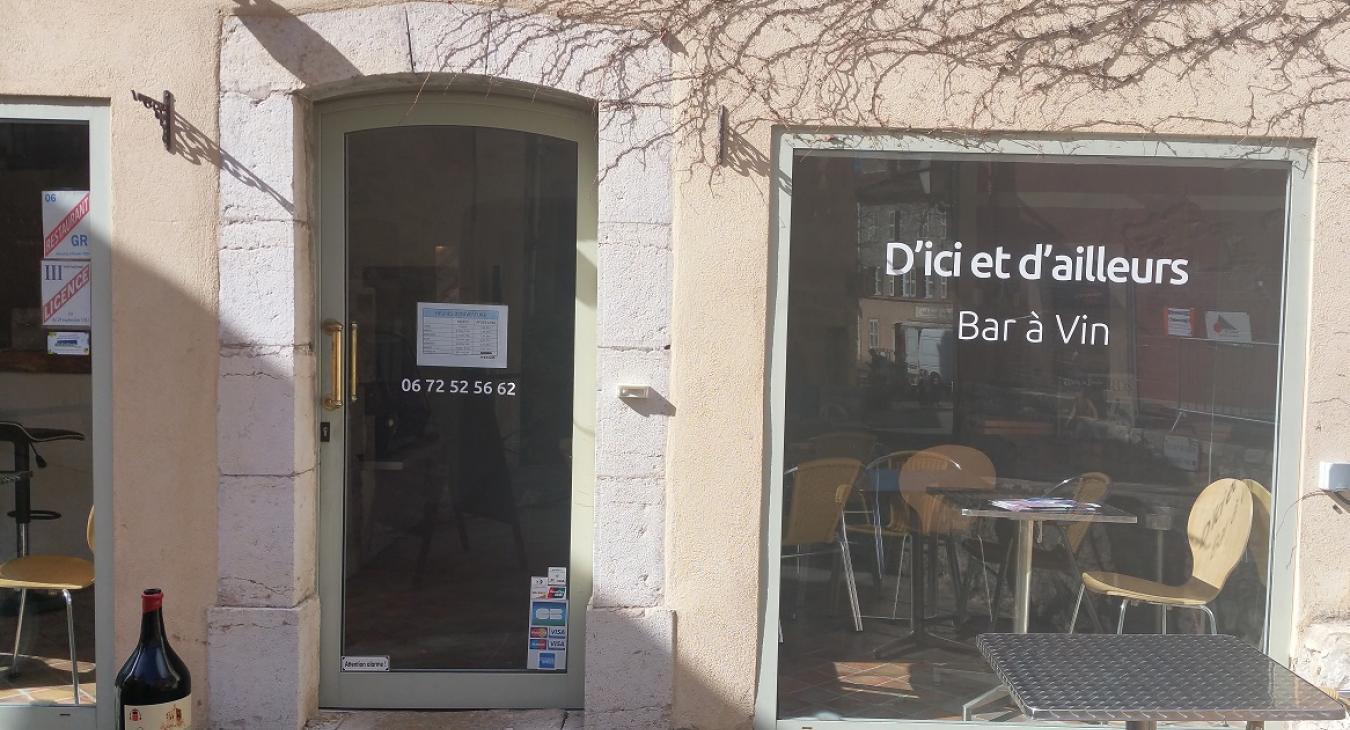 D'Ici et D'Ailleurs Bar à Vin