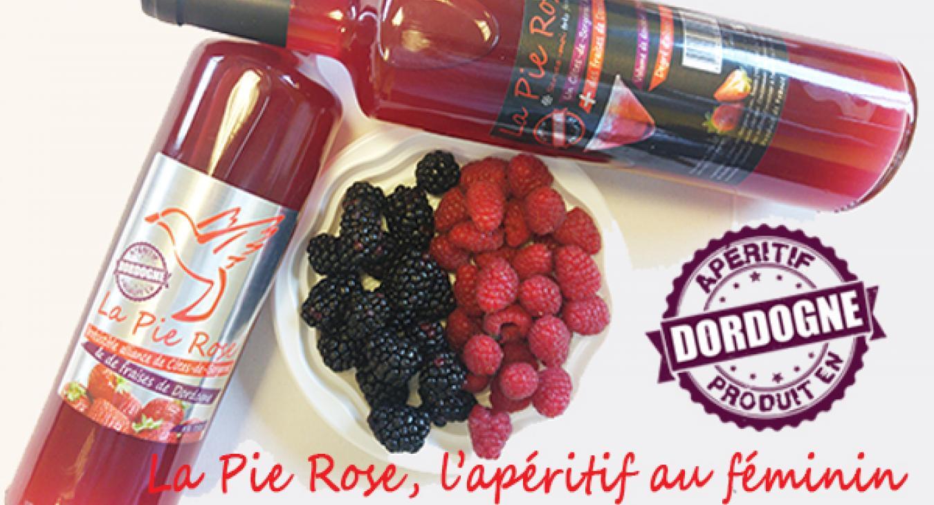 La Pie Rose, apéritif du Périgord