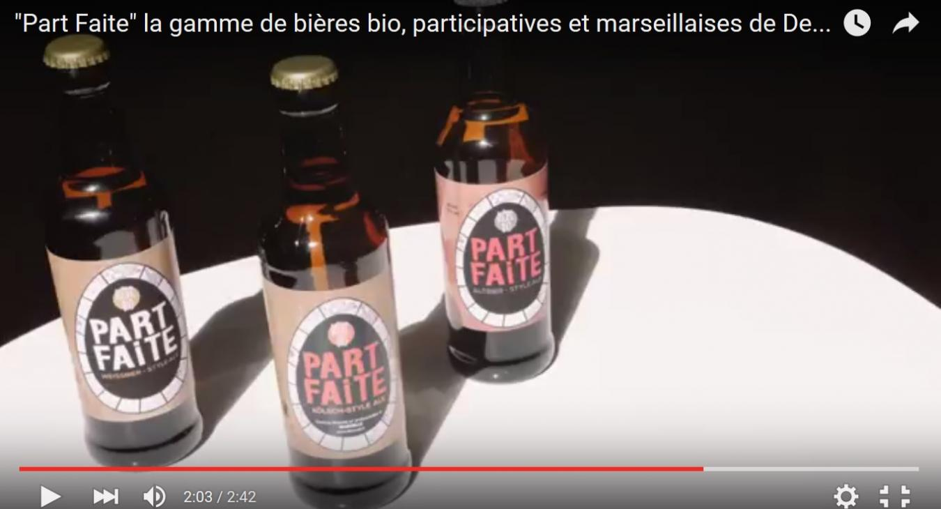 PART FAITE les bières bio et participatives de Marseille