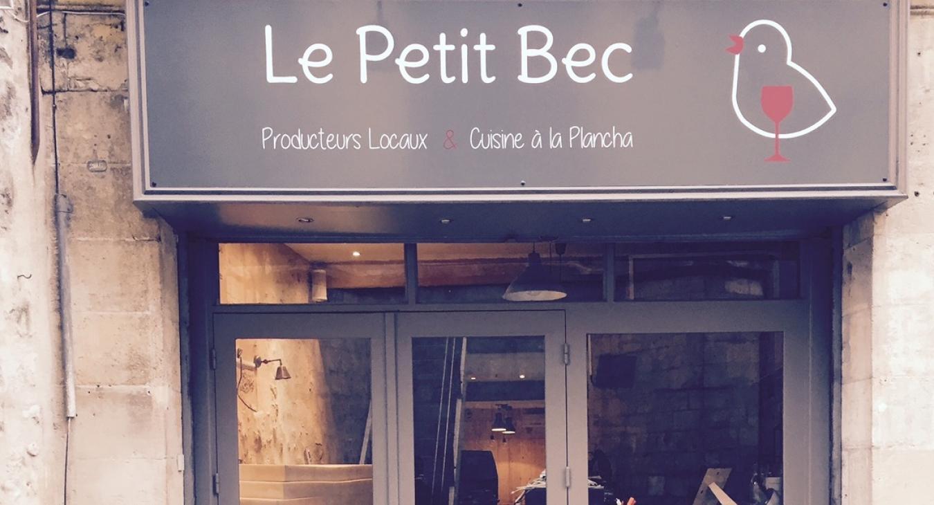 LE PETIT BEC 14 rue de la Cour des Aides  05 57 83 58 85