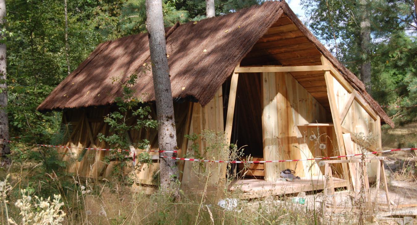 Création d'un camping nature insolite en Val de Loire.