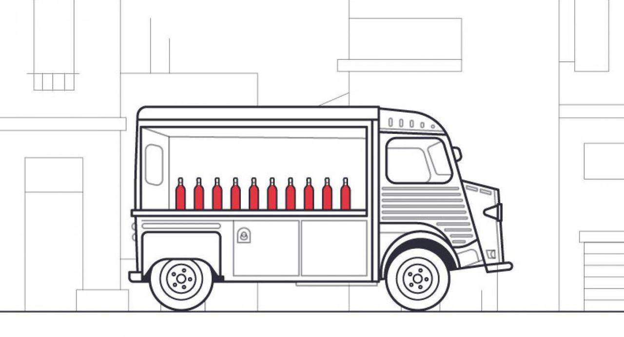 Wine Truck - Les Trois Pinardiers