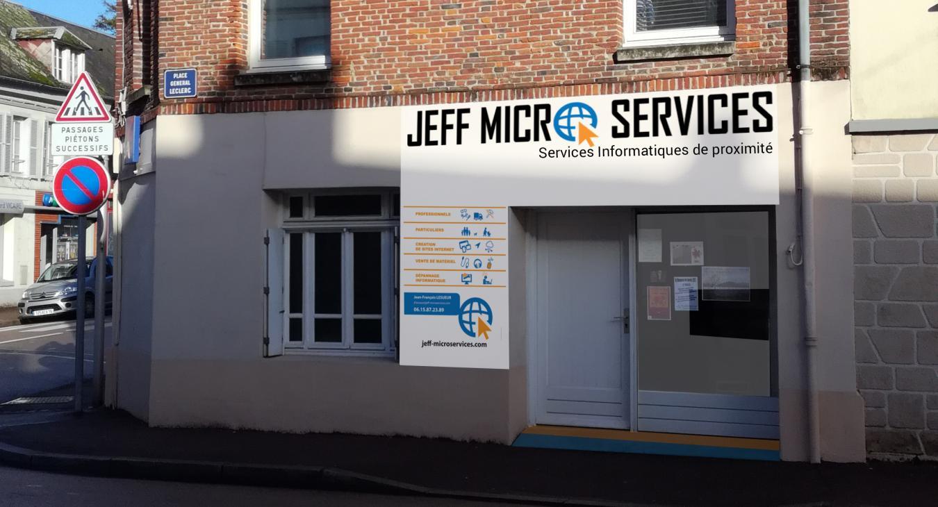 Nouveau comptoir informatique pour JEFF MICRO SERVICES