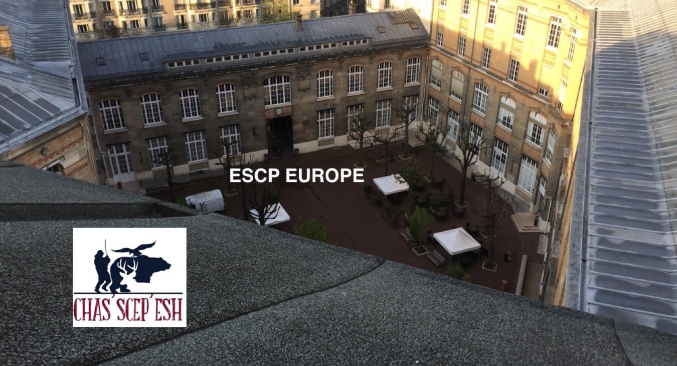 Une ruche sur le toit d'ESCP Europe