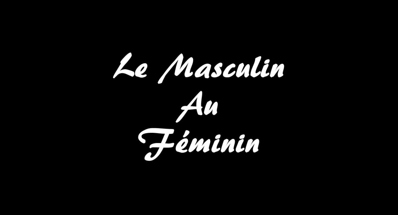 Le Masculin Au Feminin