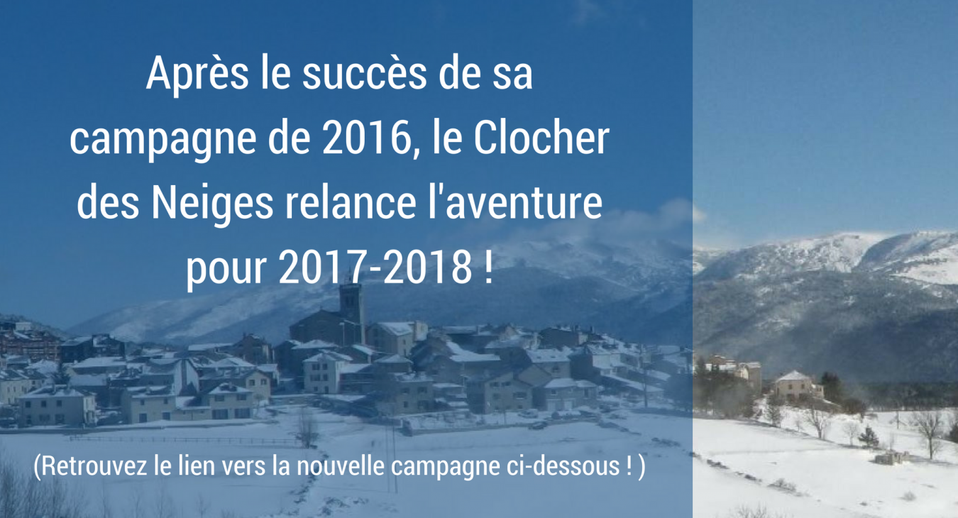 LE CLOCHER DES NEIGES