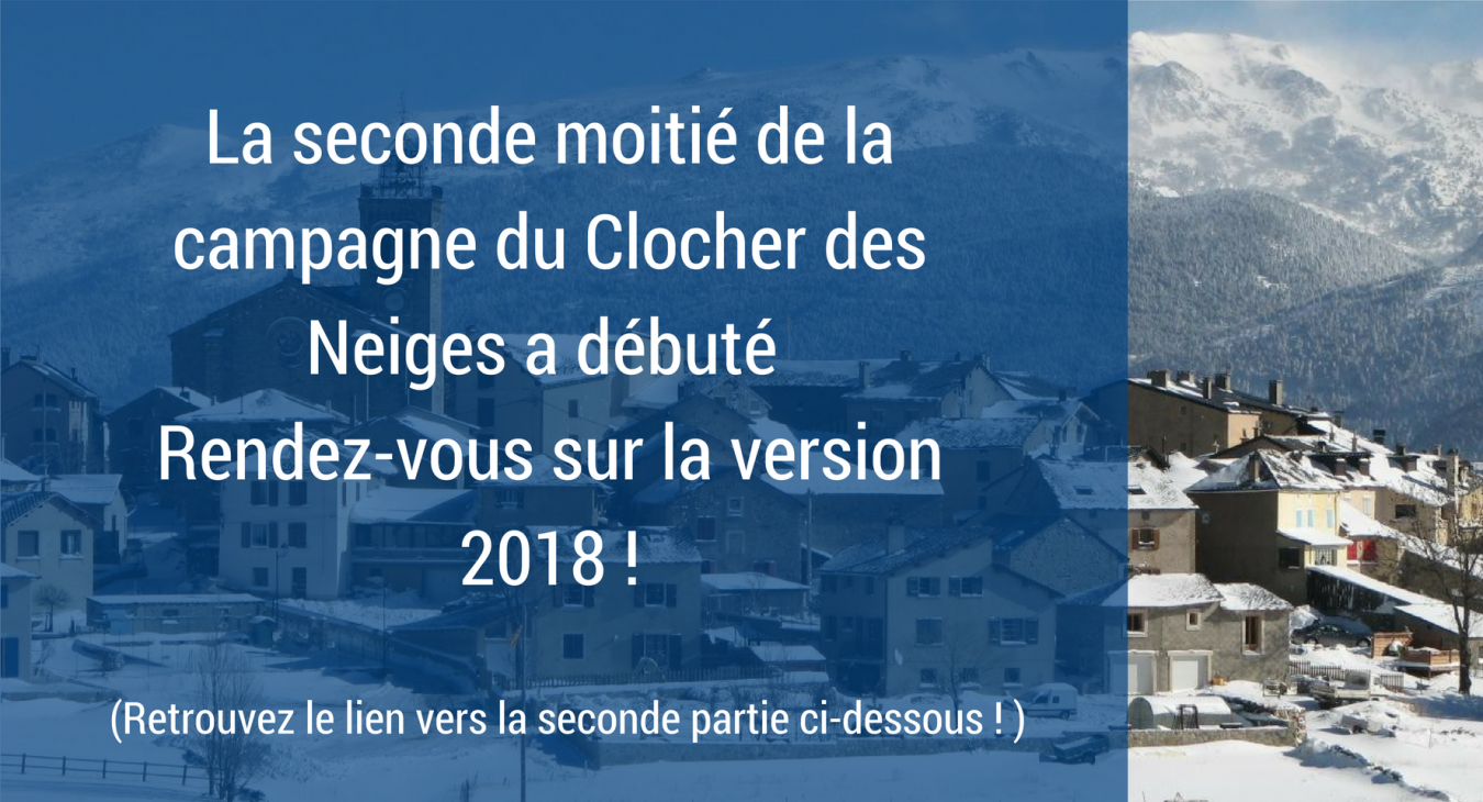 LE CLOCHER DES NEIGES II Version 2017