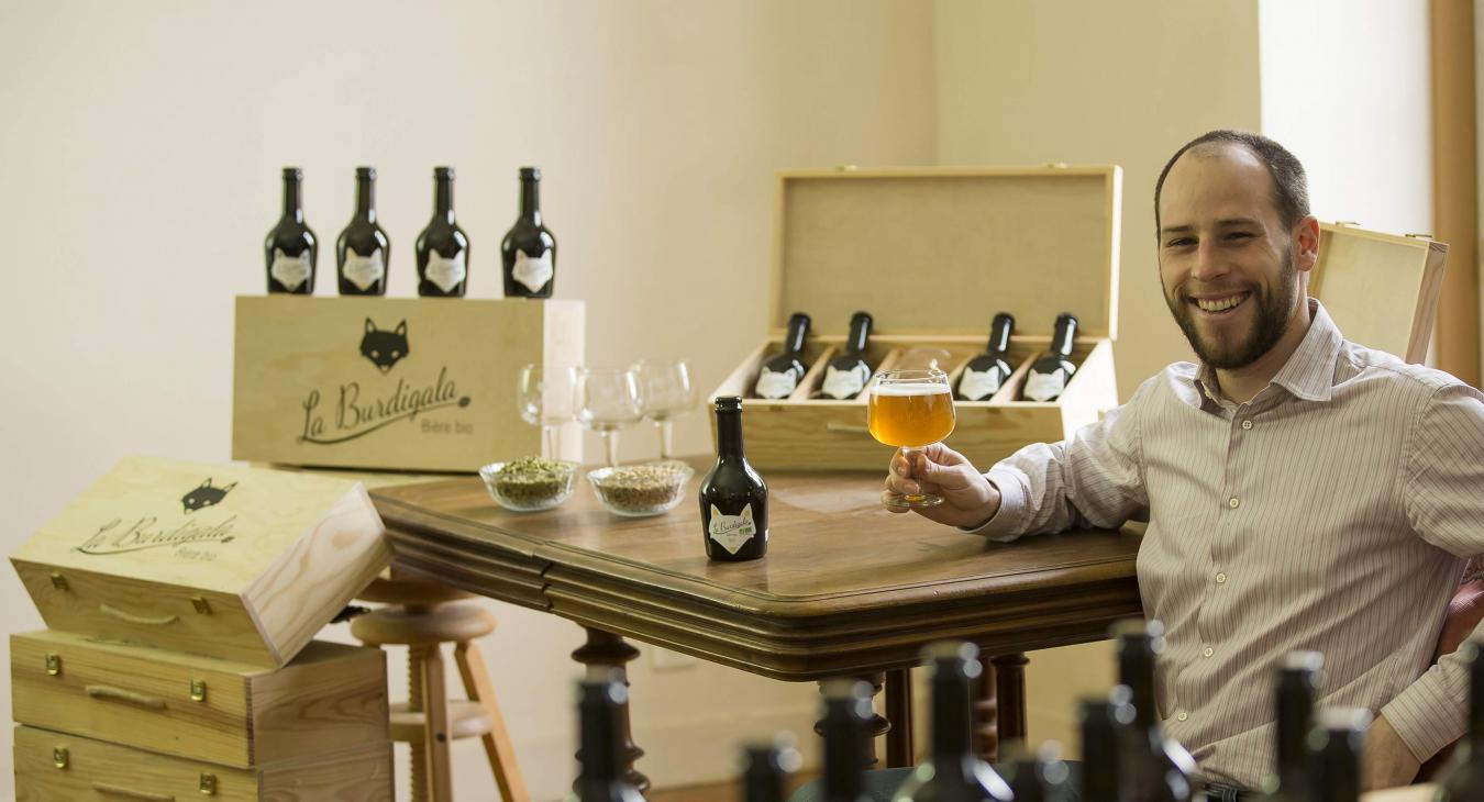 La Burdigala, bière de dégustation 100% BIO