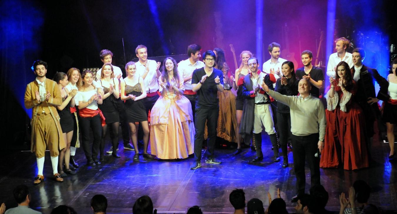 Spectacle de la Comédie Musicale ESCP