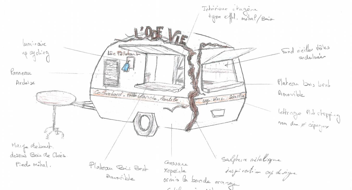 L'Aut'Vie - Wine Truck