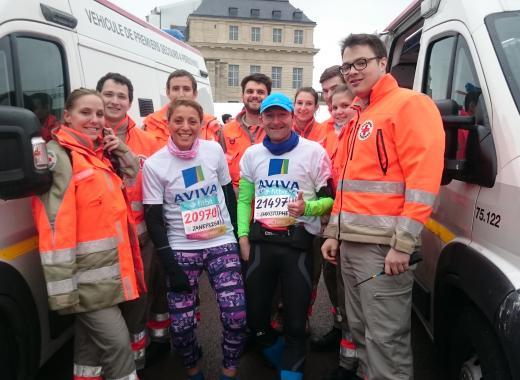 Marathon Londres Croix Rouge