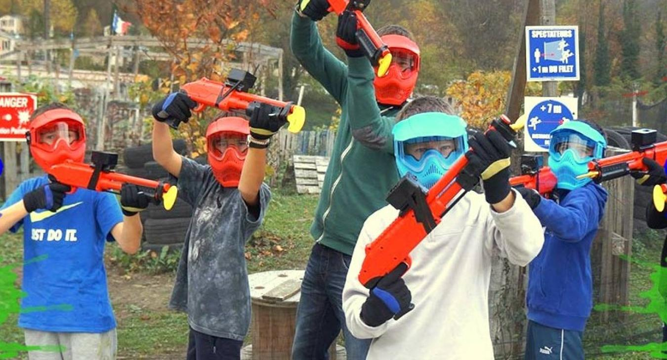 Crazy Paintball