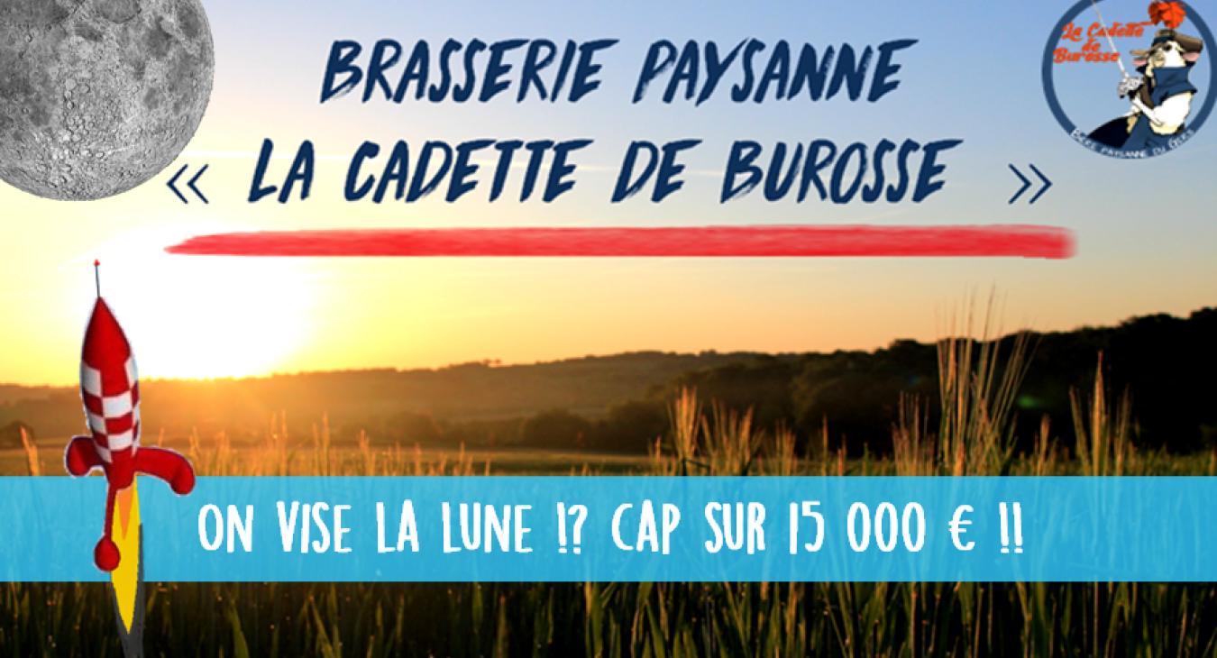 """Brasserie paysanne """"La Cadette de Burosse"""""""