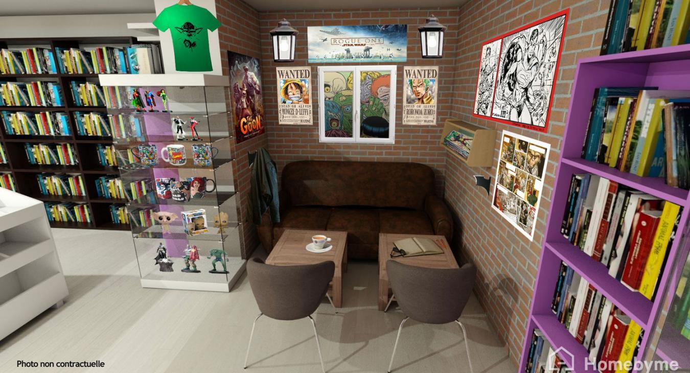 Comics Shop/café