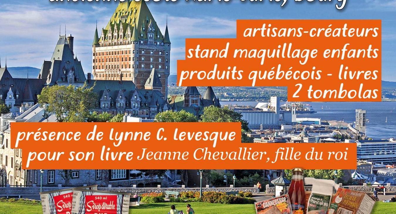 """Le marché local """"Couleurs Québec"""""""