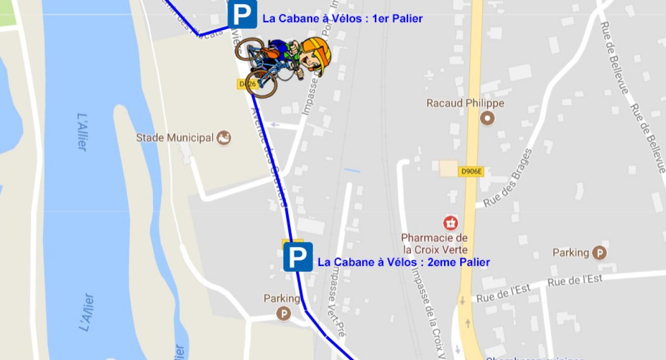 La Cabane à Vélos : En route vers le 2éme palier !