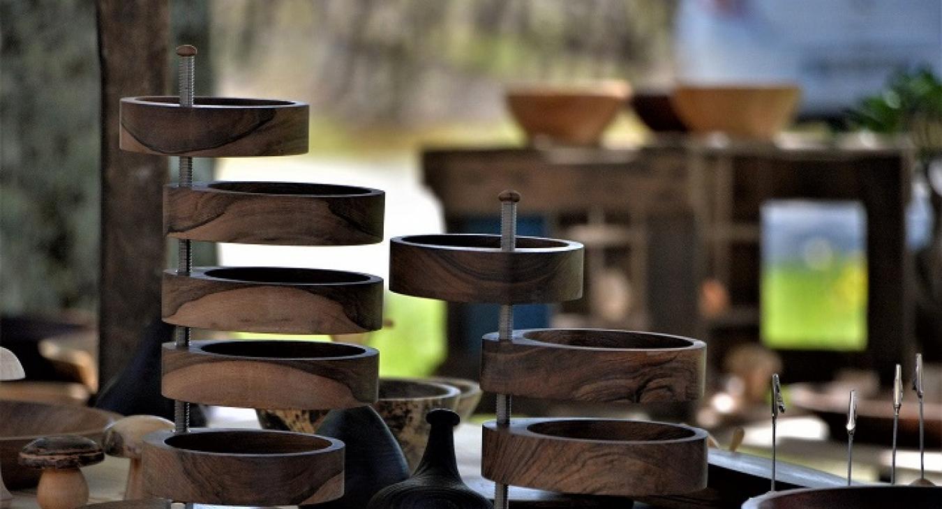 Atelier C&FAB - Tournage sur bois