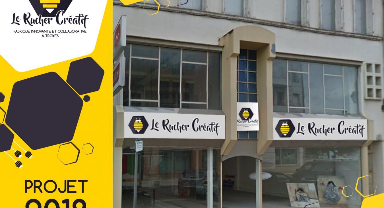 Espace collaboratif Le Rucher Créatif 2018