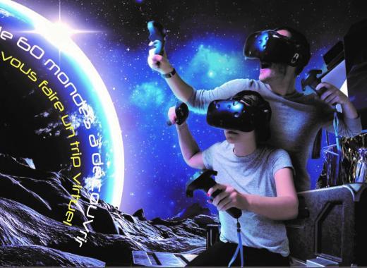 VRecall : Salle de Réalité Virtuelle d'Arcade Immersif sur DIJON