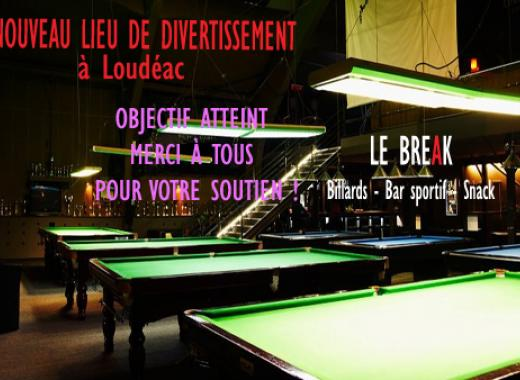 Le Break, salle de divertissement