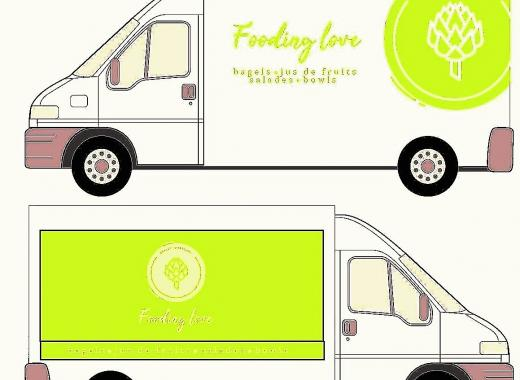 FOODING LOVE-HEALTY TRUCK